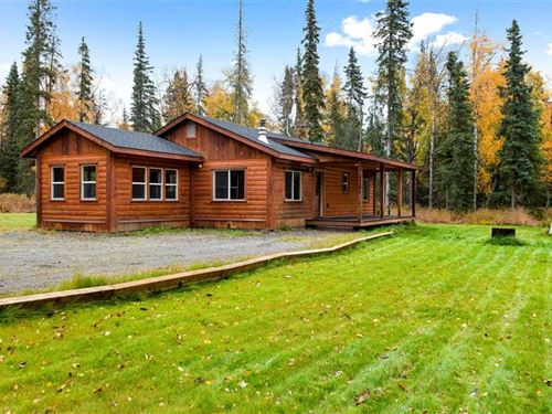 4.59 Acres of Country Privacy, Cle : Kenai : Kenai Peninsula Borough : Alaska