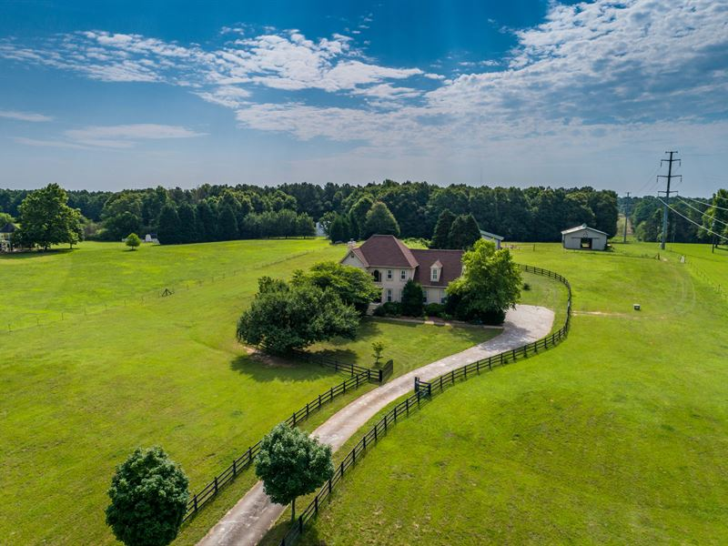 Beautiful Home On Farm With 9 Acre
