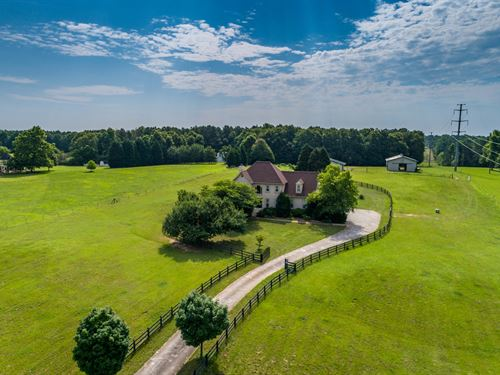 Beautiful Home On Farm With 9+ Acre : Loganville : Gwinnett County : Georgia