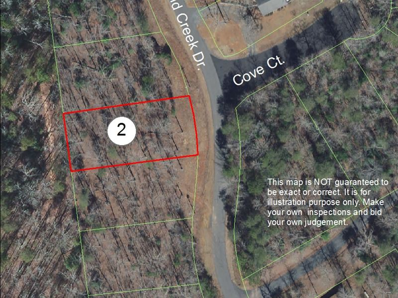 Residential Lot In Carolina Forest : Troy : Montgomery County : North Carolina