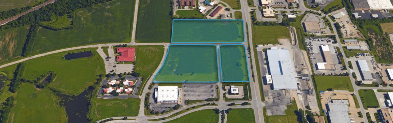 6 Bank Owned Commercial Lots - Bulk : Olathe : Johnson County : Kansas