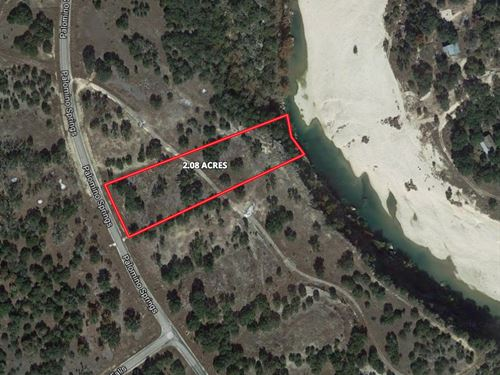 Waterfront 2+ Acres, Bandera, Tx : Bandera : Texas