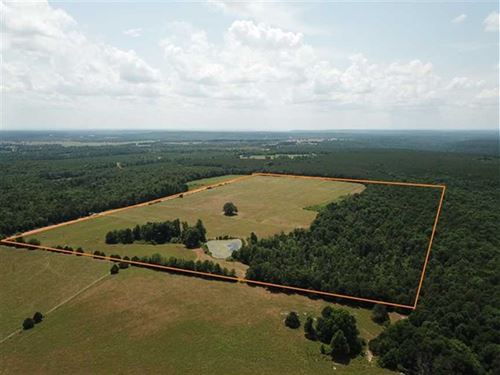 60 Acres of Prime Pasture & Ti : Pleasant Plains : Independence County : Arkansas
