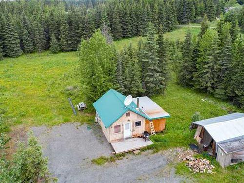 Recreational Retreat OR Home in Ni : Ninilchik : Kenai Peninsula Borough : Alaska
