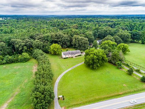 Ranch Home On 8+ Acres & Full Bsmt : Dacula : Walton County : Georgia