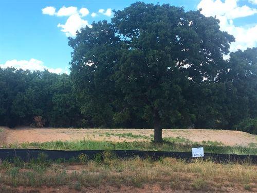 Scenic Rolling Creek Estates Lot : Granbury : Hood County : Texas