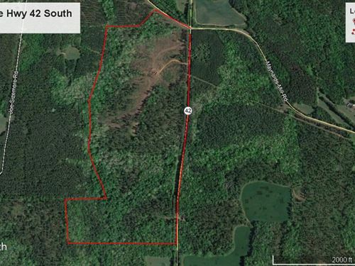 123.79 Acre Tract : Forsyth : Monroe County : Georgia