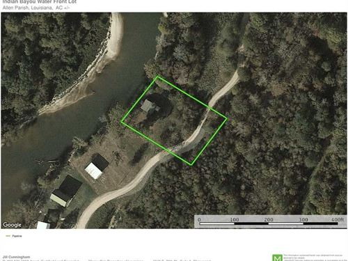 Indian Bayou Water Front Lot, Alle : Kinder : Allen Parish : Louisiana
