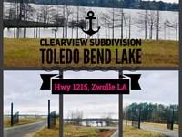 Toledo Bend Clearview Gated Subdiv : Zwolle : Sabine Parish : Louisiana