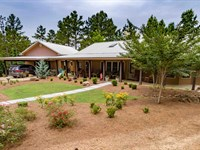 Lafayette County Ms Home & 125 Acre : Water Valley : Lafayette County : Mississippi