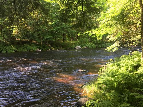 New York Fishermans Dream : Brasher Falls : New York County : New York