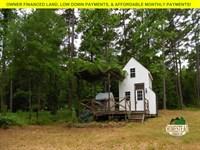 Tiny House With Acreage Near Lake : Houston : Perry County : Arkansas