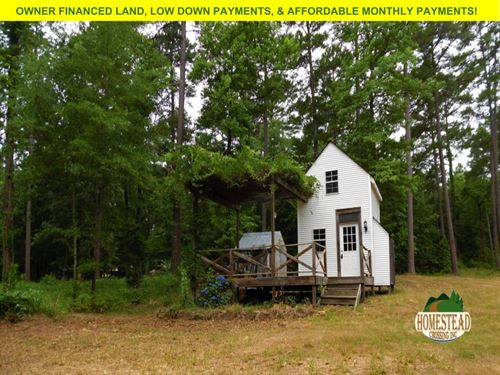 Tiny House With Acreage Near Lake : Houston : Perry County : Arkansas