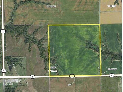 160 Ac., M/L Tillable Farm For Sal : Keosauqua : Van Buren County : Iowa