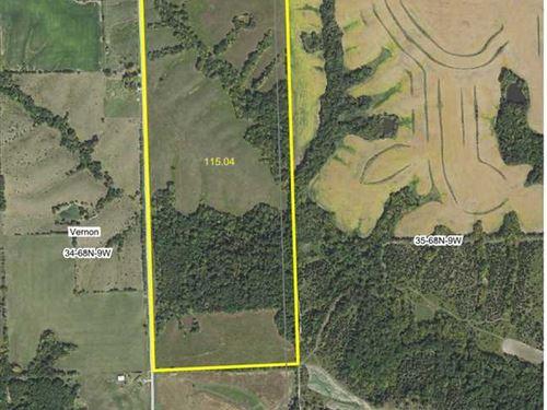 115 Acres, M/L, Mixed Use Farm For : Mount Sterling : Van Buren County : Iowa
