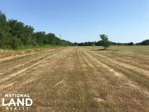 50 Acres Mabank, Pasture, Trees, Po : Mabank : Kaufman County : Texas