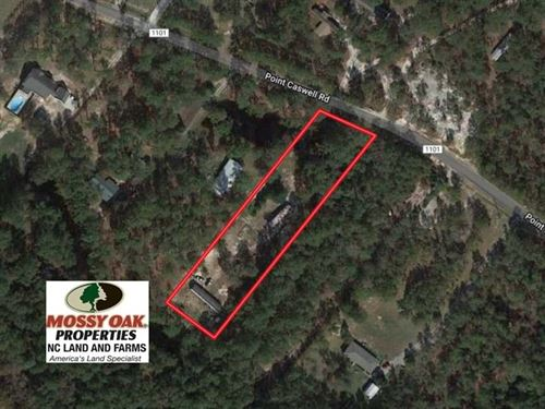 Under Contract, 1.38 Acres of Res : Atkinson : Pender County : North Carolina