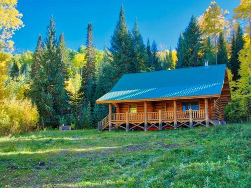 Log Cabin For Sale In Western Color : Montrose : Colorado