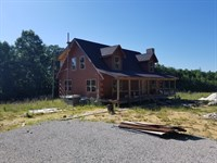 20.82+/-Acres With Unfinished Cabin : Beersheba Springs : Grundy County : Tennessee