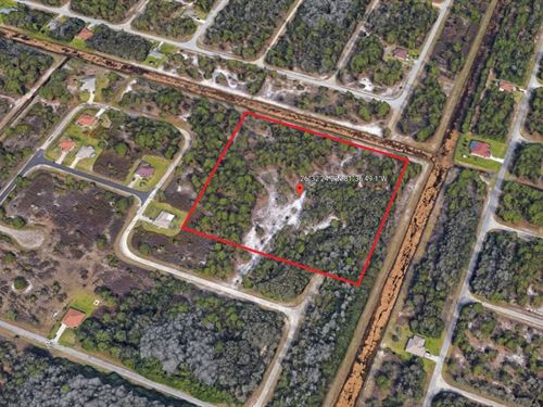 8.09 Acres In Lehigh Acres, FL : Lehigh Acres : Lee County : Florida