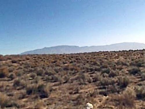 Sandoval County, Nm $24,500 Neg : Rio Rancho : Sandoval County : New Mexico
