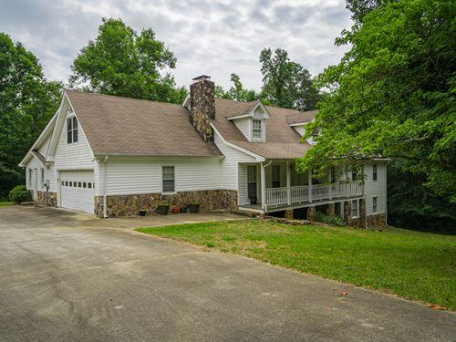 Large Cape Cod Style Home : Monroe : Walton County : Georgia