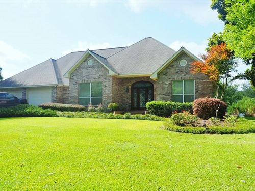 Lakefront Home For Sale Lake Dixie : Summit : Pike County : Mississippi