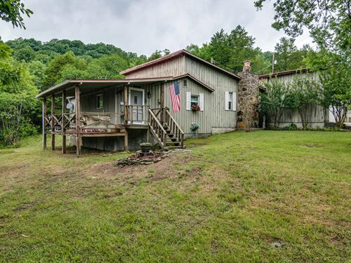 5+Ac W/2Bd/2Ba Home, Shed, Private : Whitleyville : Jackson County : Tennessee