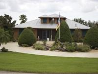 70 Acre Ranch Estate : Okeechobee : Okeechobee County : Florida