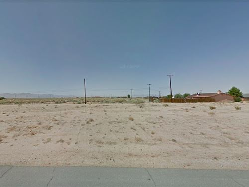 .16 Acres In California City, CA : California City : Kern County : California