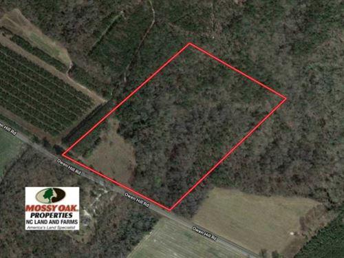 Under Contract, 25 Acres of Land : Elizabethtown : Bladen County : North Carolina