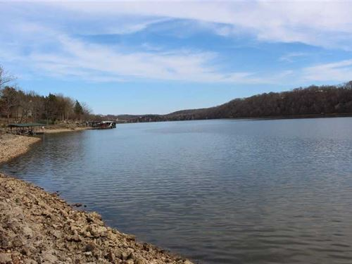 2 Adjoining Lakefront Lots on Lake : Edwards : Camden County : Missouri