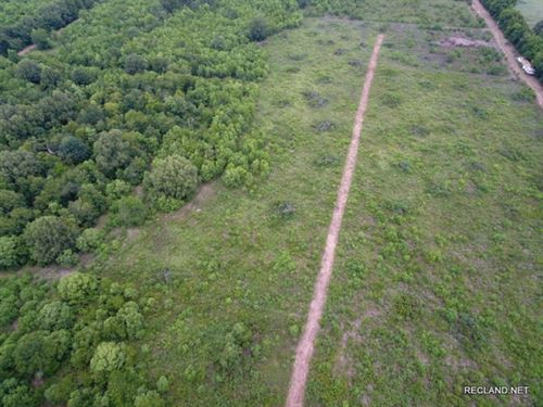 37 Ac - Partially Wooded Tract Near : Monroe : Ouachita Parish : Louisiana