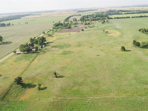 152 Acres Offered In 3 Tracts : Ames : Garfield County : Oklahoma