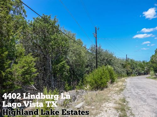 .22 Acres In Travis County : Lago Vista : Travis County : Texas
