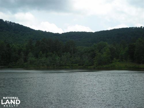 Lake Lot in North GA Mountains/Gate : Ellijay : Gilmer County : Georgia