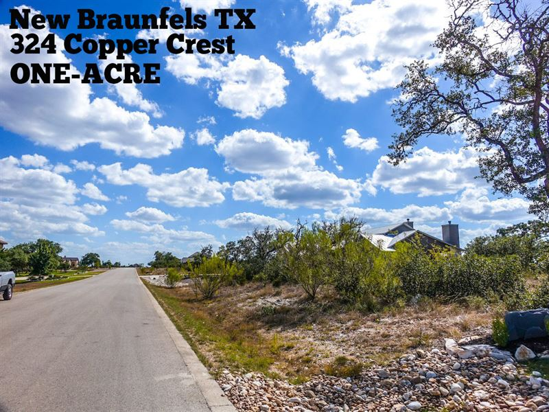 1 Acre In Comal County : New Braunfels : Comal County : Texas