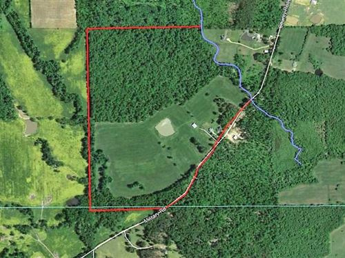 Home on 114 Acres For Sale in Ripl : Fairdealing : Butler County : Missouri