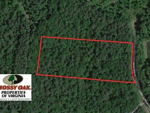 Under Contract, 5 Acres of Reside : Monroe : Amherst County : Virginia