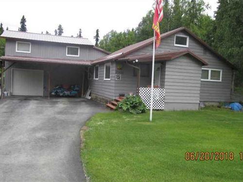 Secluded Horse Property Just Outsi : Soldotna : Kenai Peninsula Borough : Alaska