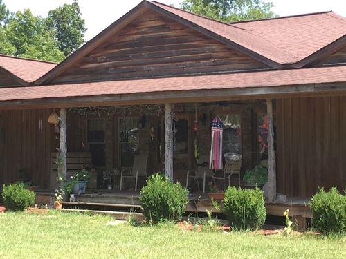 Organic Farm Hunting Land W/ House : Butler : Taylor County : Georgia