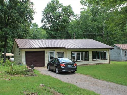 Home on 3.6 Acres For Sale in Gree : Greenville : Wayne County : Missouri