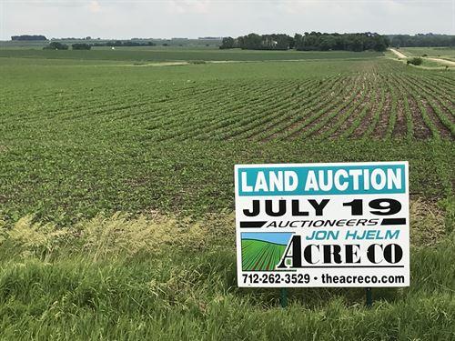 Productive Farm With Great Soils : Hartley : O'Brien County : Iowa
