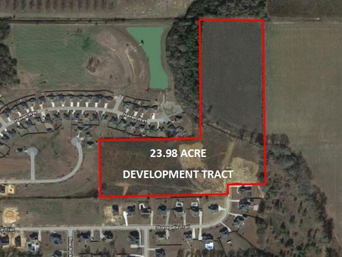 Development Land Tract Available : Perry : Houston County : Georgia