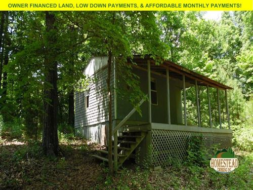 Cabin In Unrestricted Area : Ozark Acres : Sharp County : Arkansas