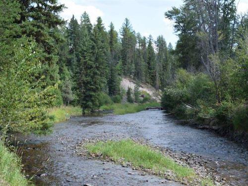 Wild River Ranch : Condon : Missoula County : Montana