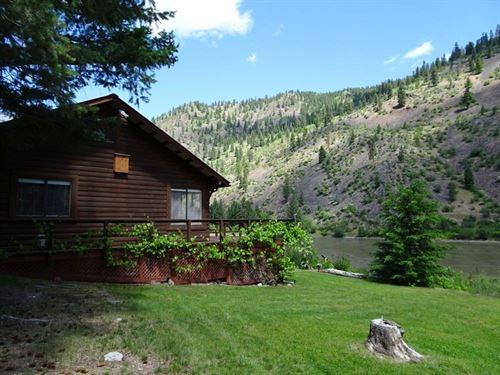 Riverside Retreat : Plains : Sanders County : Montana