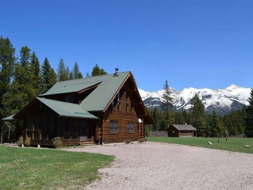 The Buck Creek Wilderness Ranch : Condon : Missoula County : Montana