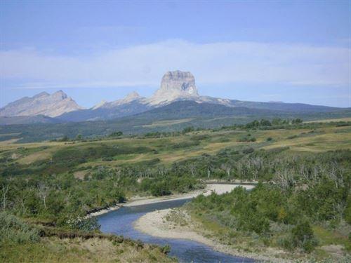 400 Acres Near Goose Lake : Babb : Glacier County : Montana