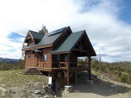 Cabinet Mountain Chalet : Plains : Sanders County : Montana